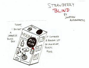 Jonathan Alexandratos-Strawberry Blind
